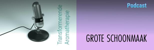 Podcast #2 Transformerende Aromatherapie: Grote Schoonmaak